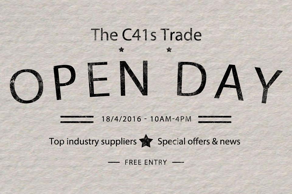 C41s-Trade-open-day-logo