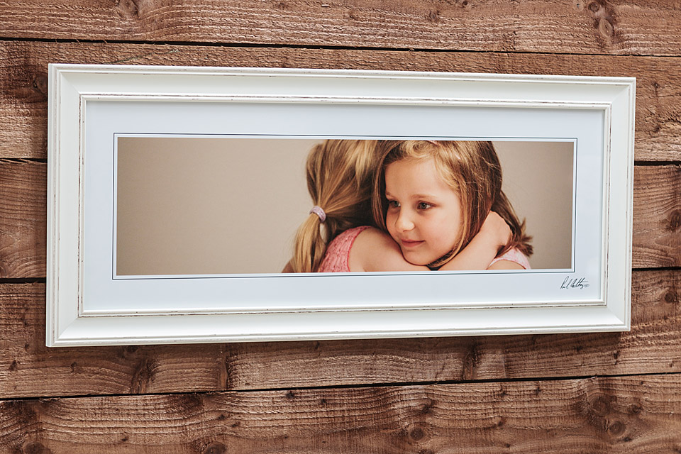 "Pastel Frame - 30""x11"" - Frame = White Thick / Mount - None / Glass = Yes"
