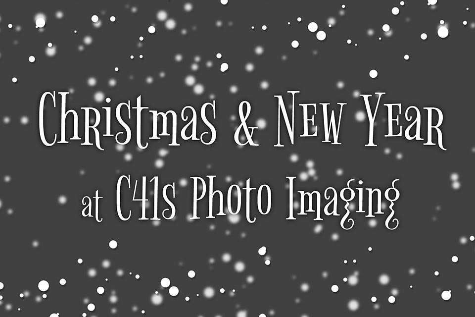Christmas & New Year 2018 at C41s Photo Imaging