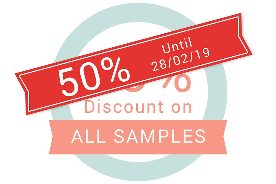 50% Sample Discount C41s